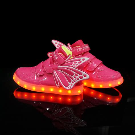 shoes with lights for children shoes led light chaussure enfant led boys