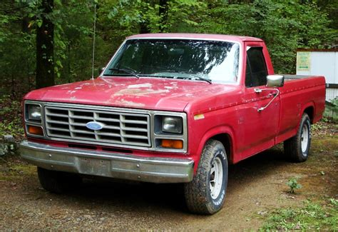 truck ford red mountain lure lore love of the pick em up truck boston