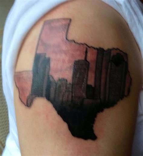 houston oilers tattoo houston skyline designs 17090 applestory