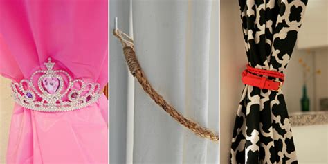 Handmade Curtain Tie Backs - creative curtain tie backs curtain menzilperde net