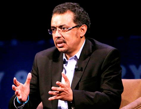 tedros adhanom ghebreyesus dr tedros adhanom gebreyesus is tigrai online s 2013