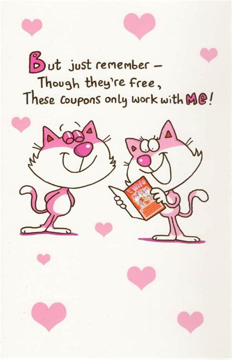 sexual valentines day cards to my coupons inside s day card
