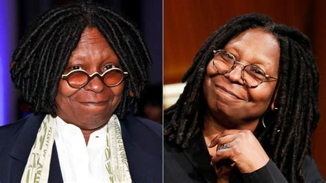 is whoopi goldberg bald whoopi goldberg reveals how she lost 30 pounds abc news