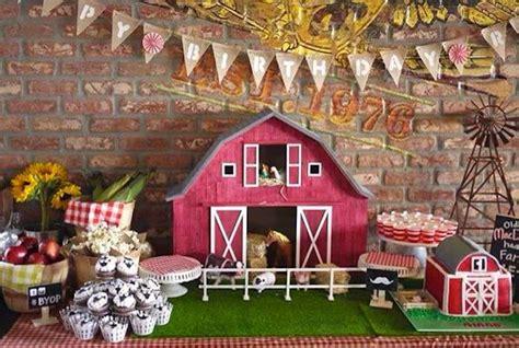 farm theme decorations kara s ideas mcdonald farm themed birthday