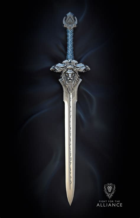 show me the sword you are based off cortana warcraft sword of the royal guard