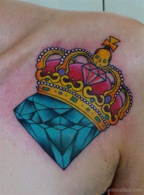 diamond queen tattoo 55 latest diamond tattoos and meanings