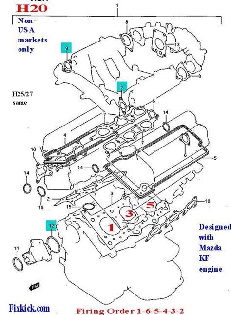 Cylinder Suzuki Escudo 2 0 one cylinder diagram 2007 suzuki xl7 wiring diagram