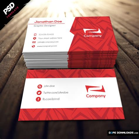 dope card template gallery templates design ideas