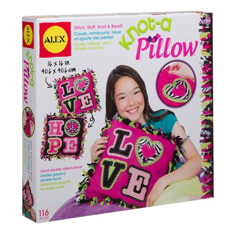 diy knot pillow smart kids toys alex toys craft giant knot and stitch pillow 0a1180d the
