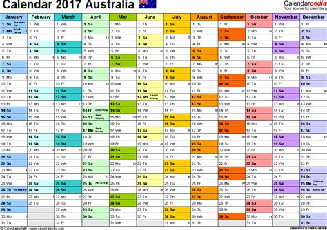 printable financial year calendar australia 2017 calendar australia monthly calendar template