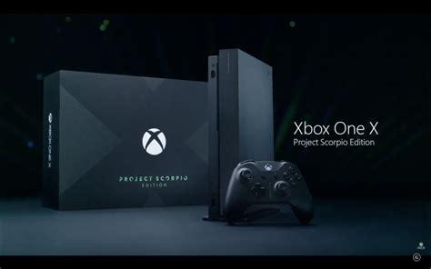 xbox one x project scorpio 233 a edi 231 227 o especial do console da microsoft techtudo