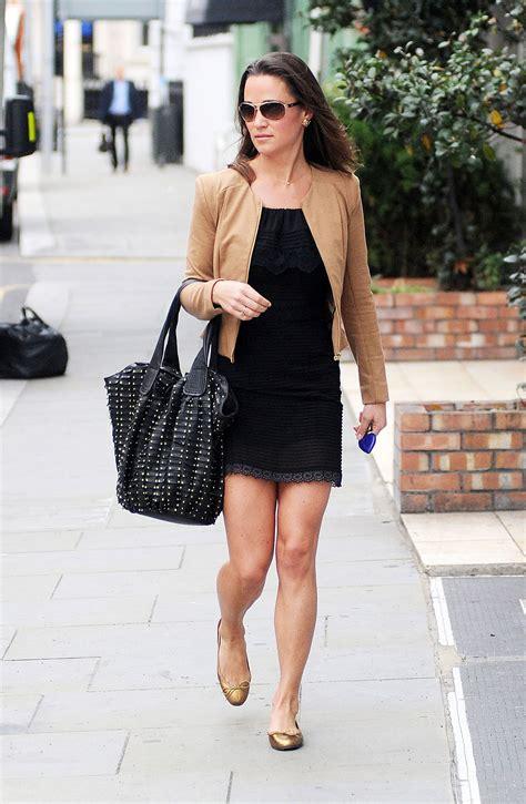 pippa middleton dress pippa middleton wearing black dress in london hawtcelebs