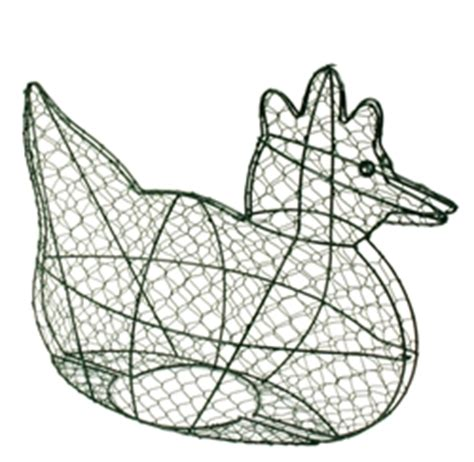 chicken wire topiary forms chicken hen topiary wire form