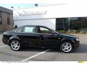 Audi A4 Quattro 2007 2007 Audi A4 2 0t Quattro Sedan In Brilliant Black