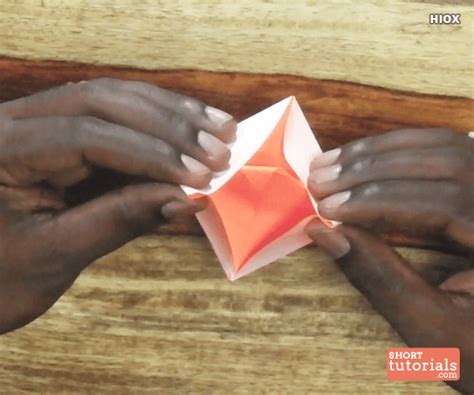 how to make a paper boat slowly paper knife boat step 13