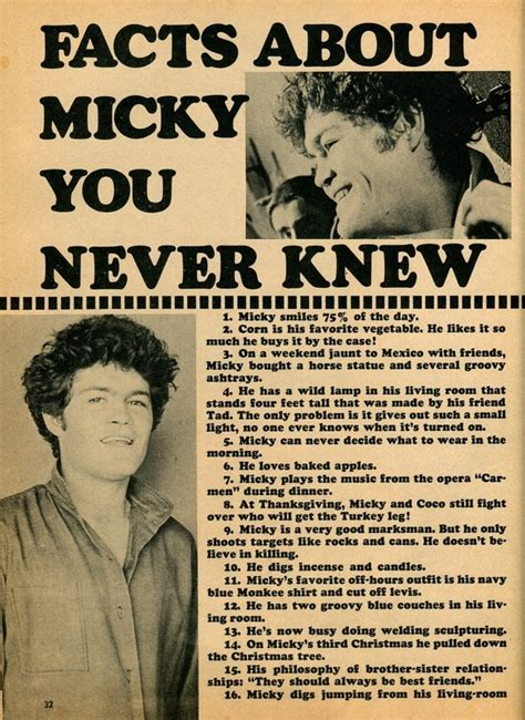 8 Facts You Never Knew by Monkees Live Almanac
