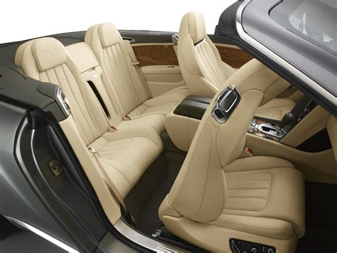 bentley continental interior back seat 2012 bentley continental gtc rear seats eurocar news