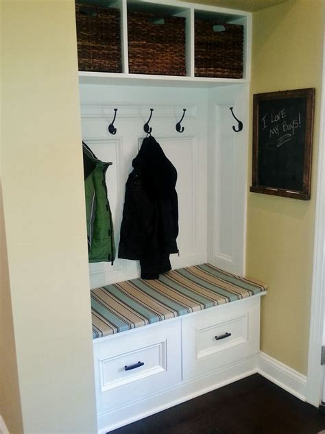 Closet Converted To Mudroom by 17 Best Ideas About Converted Closet On Closet