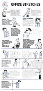 Office Chair Exercises Office Stretches To Do At Your Desk Walkingspree