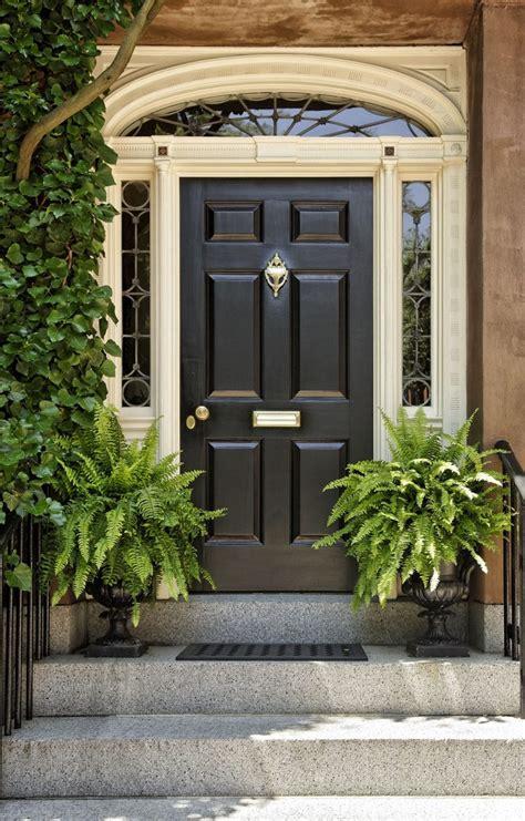 black front door ideas art   home