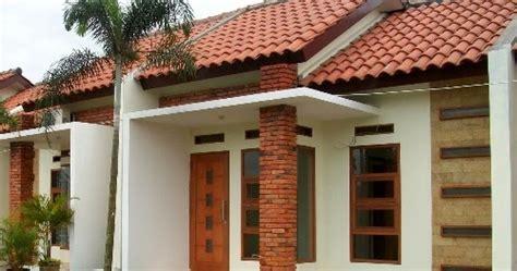dekorasi rumah cantik  batu bata tempel