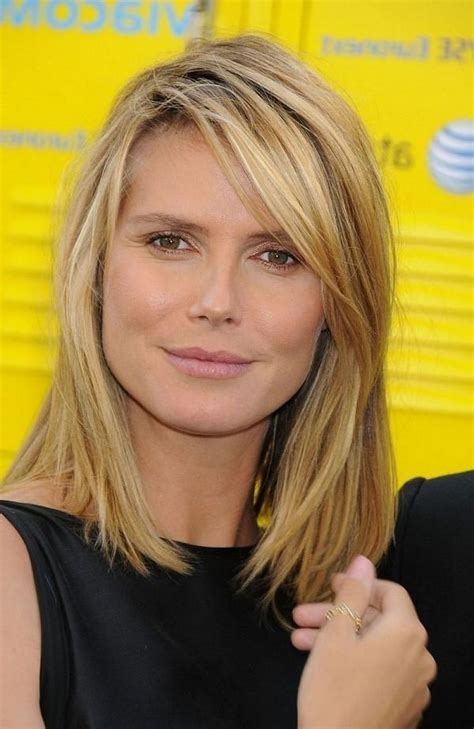 111 best layered haircuts for all hair types 2018 15 best of medium long haircuts with side bangs