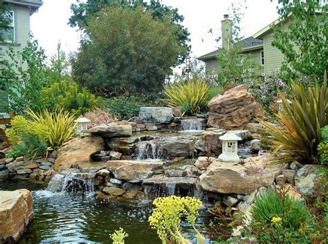 waterfalls backyard garden home 16 interiorish