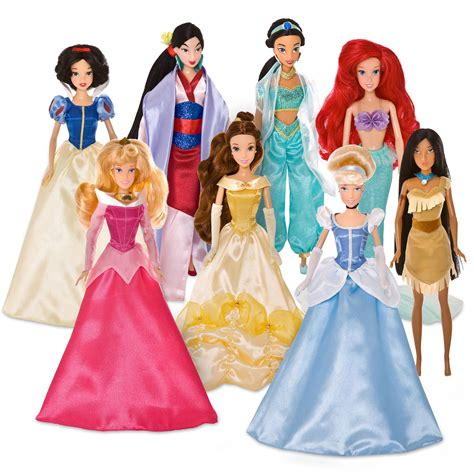 Princes Set 2 filmic light snow white archive 2009 happily after disney princess doll set