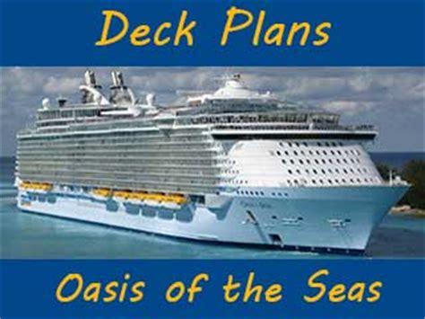 oasis of the seas floor plan deck plan cruise expert