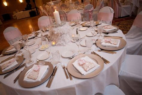 Dining Room Centerpieces Ideas pink amp silver table setting ashley cornewell flickr