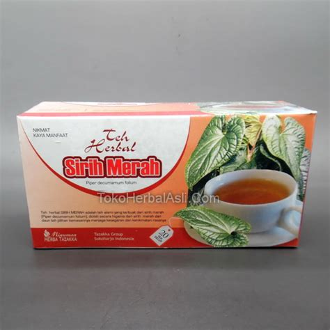 Teh Merah harga grosir teh herbal sirih merah toko herbal asli