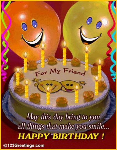 Happy Birthday Smile Quotes Funny Happy Birthday Friend Congratulations Happy