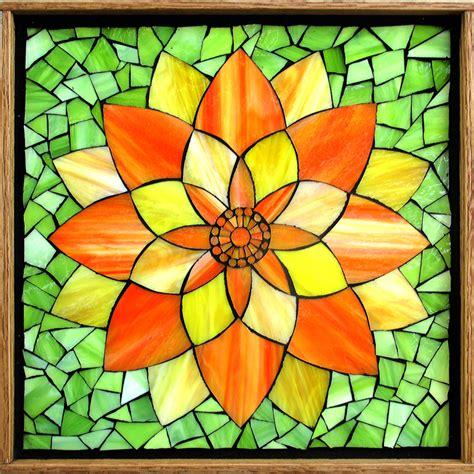 mosaic lotus pattern kasia mosaics classes 187 online class gift