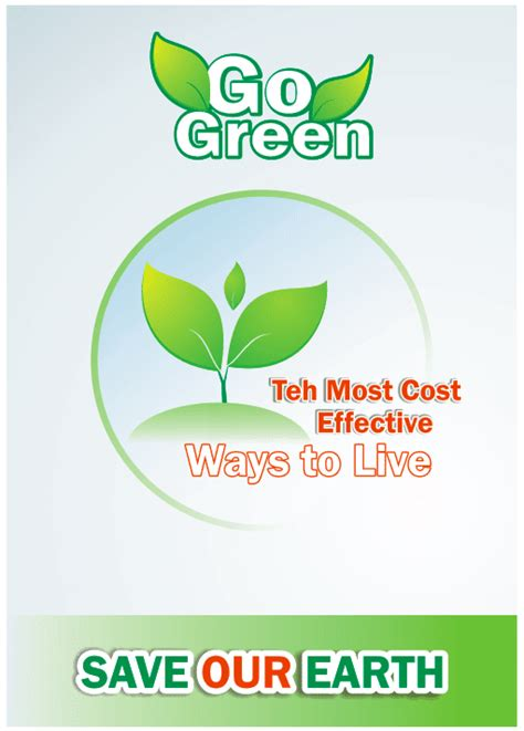 cara membuat poster lingkungan hidup membuat desain poster go green lingkungan hidup di
