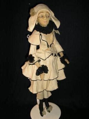 lenci boudoir doll early lenci pierrot boudoir doll