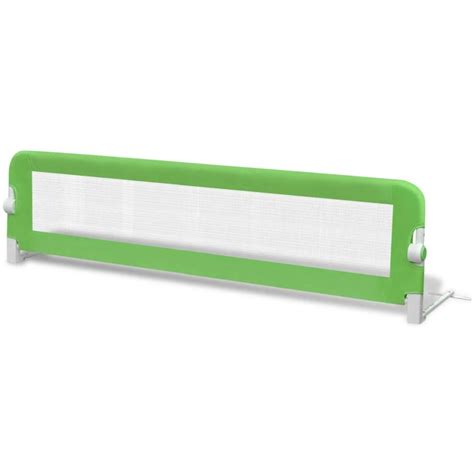 Vidaxl Co Uk Toddler Safety Bed Rail 150 X 42 Cm Green Bed Rail