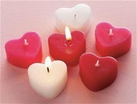 candele per san valentino fatto in casa candele profumate a forma di cuore fatte in