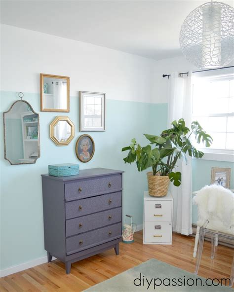 diy bedroom painting ideas hometalk a floor to ceiling diy office makeover