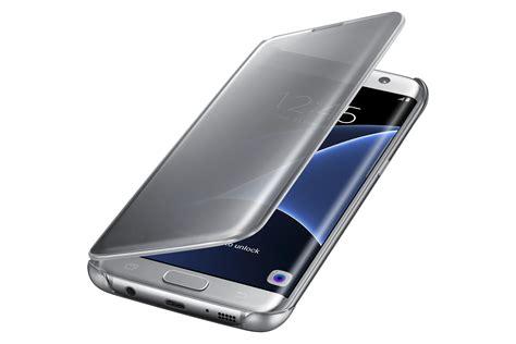 Flip Cover Samsung Galaxy S7 Edge samsung galaxy s7 edge s view clear flip