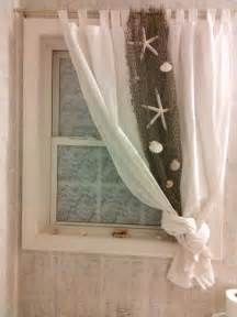 Bathroom Window Curtain Ideas Best 25 Beach Curtains Ideas On Pinterest