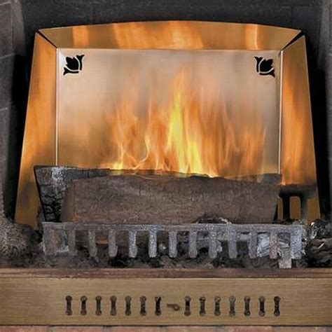 Heat Reflectors For Fireplaces by Heat Reflectors To Churn Out 40 More Heat From Your Fireplace Hometone