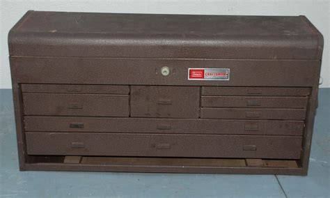 sears 8 drawer tool box vintage machinest tool box vintage sears craftsman 8