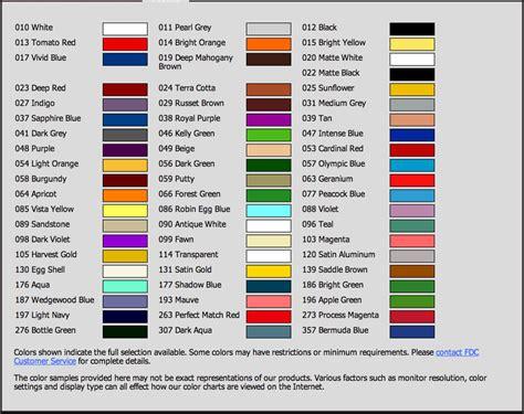 3m vinyl color chart 3m 220 vinyl color chart coastal graphics llc die cut