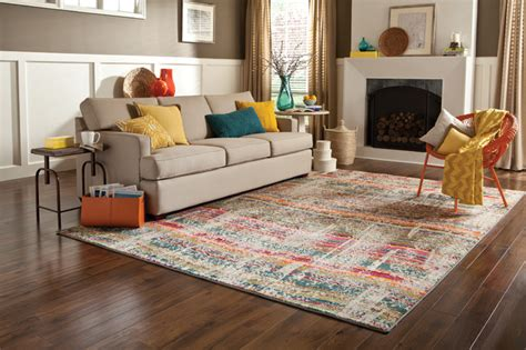 colorful rugs for living room modern bright colored area rug modern living room all
