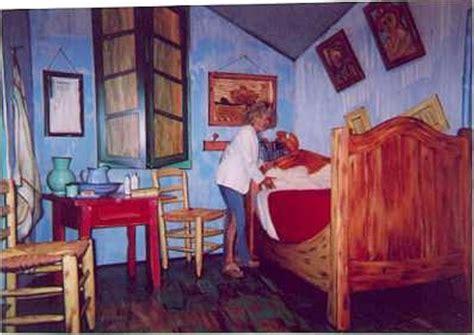 vangoghs bedroom vicki herself in van gogh s bedroom van gogh art pinterest