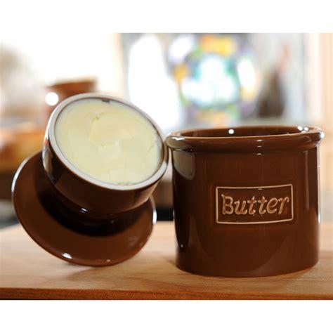 Butter L Tremain Coffee Original Butter Bell Crock