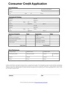 generic credit application template free printable credit reference form form generic