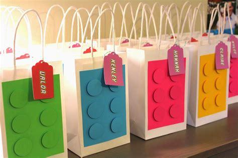 Souvenir Goodie Bag Ransel Banner Lego 3 lego ideas favors search ideas lego favors and girly