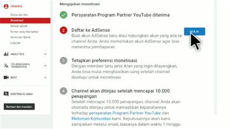 cara membuat youtube channel dari hp cara mendaftar dan mengaitkan channel youtube dengan