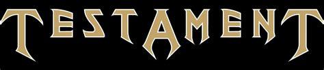 logo testament testament shop artists